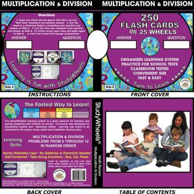 Study Wheels Multiplication & Division Review