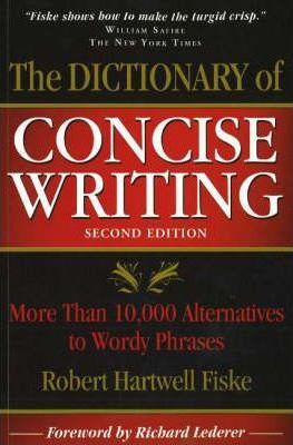 PDF,ePUB,MOBI] Dictionary of Concise Writing : More Than