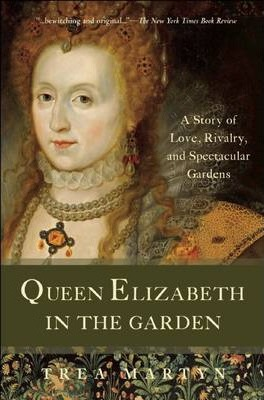 Queen Elizabeth in the Garden