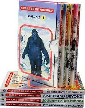 Choose Your Own Adventure 4-Book Set, Volume 1 Cover Image