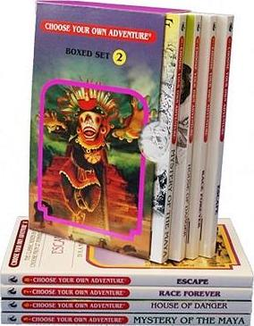 Choose Your Own Adventure, Volume 2 : Mystery of the Maya/House of Danger/Race Forever/Escape