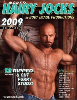 Naked Hairy Jocks 2009 Calendar