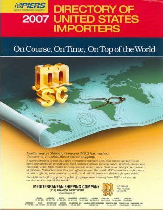2007 Directory Of United States Importers