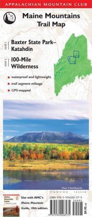 Amc Map: Baxter State Park - Katahdin and 100-Mile Wilderness