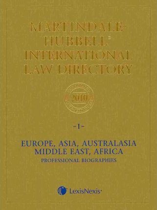 Martindale-Hubbell International Law Directory 2010