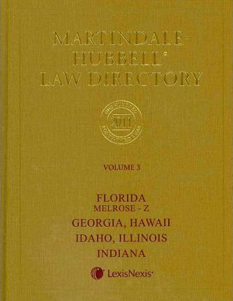 Martindale-Hubbell Law Directory 2011