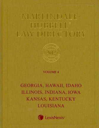 Martindale-Hubbell Law Directory 2012