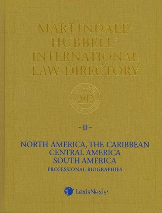 Martindale-Hubbell International Law Directory 2012