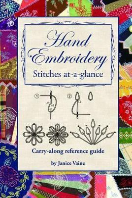 Hand Embroidery : Stitches at-a-Glance