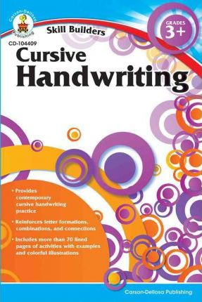Cursive Handwriting, Grades 3+