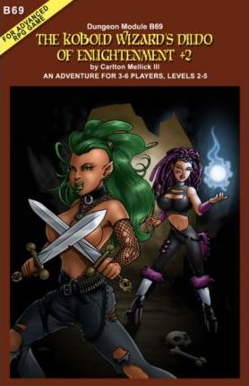 The Kobold Wizard's Dildo of Enlightenment +2 (an Adventure for 3-6 Players, Levels 2-5)