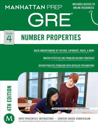 Number Properties GRE Strategy Guide, 4th Edition : Manhattan Prep