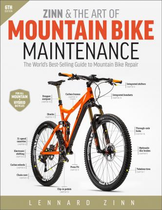 zinn the art of mountain bike maintenance lennard zinn rh bookdepository com best mountain bike repair manual best mountain bike repair manual