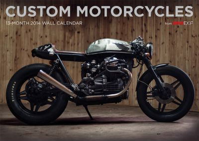 BIKE EXIF Custom Motorcycle Calendar 2014