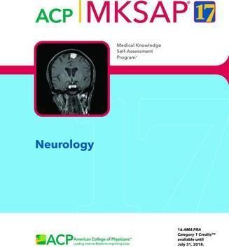 MKSAP (R) 17 Neurology