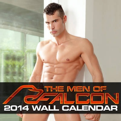 2014 The Men Of Falcon Wall Calendar