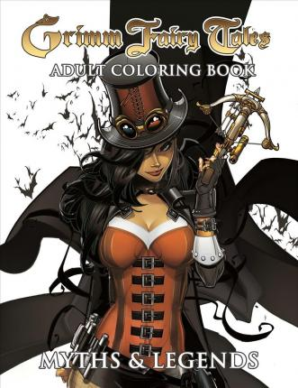 Grimm Fairy Tales Adult Coloring Book Myths Legends