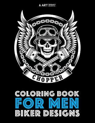 Coloring Book for Men: Biker Designs