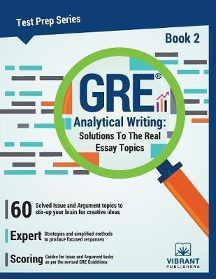 GRE Analytical Writing Book 2 Vibrant Publishers 9781946383297