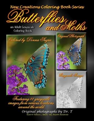 New Creations Coloring Book Series : Butterflies and Moths