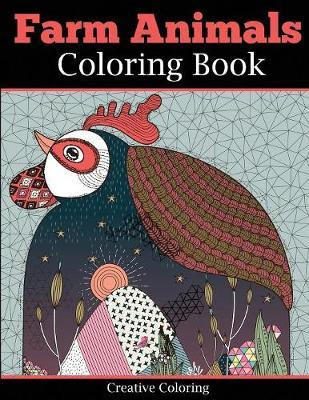 Farm Animals Coloring Book For Adults Creative Coloring