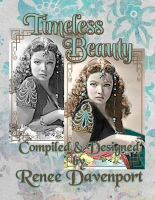 Timeless Beauty  Grayscale Adult Coloring Book