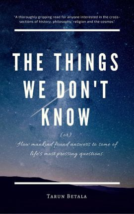 The Things We Don't Know 2017: 1