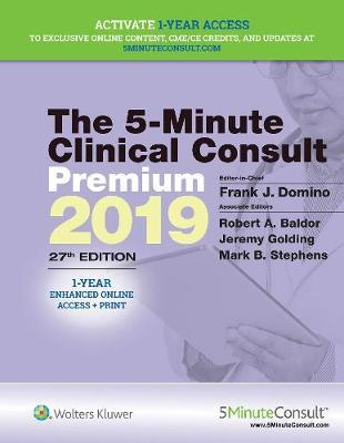The 5 Minute Clinical Consult Premium 2019 Dr Frank J Domino