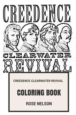 Creedence Clearwater Revival Coloring Book  Swamp Rock Legends and Classical Roots Rock Godfathers Great John and Tom Fogerty Inspired Adult Coloring Book