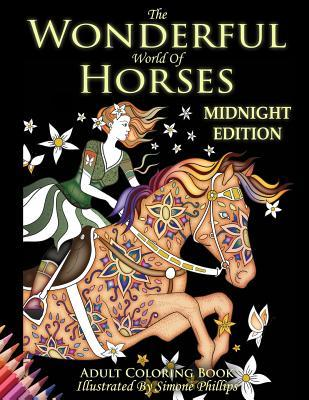 The Wonderful World of Horses  Midnight Edition Images Now with a Midnight Black Background