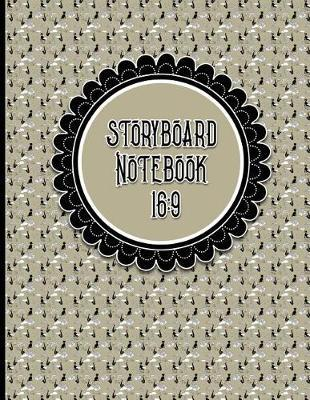 Storyboard Notebook 16  9 Cinema Notebook 4 Panel / Frame with Narration Lines, Sketch Picture Book Ideas for Writers and Illustrators -