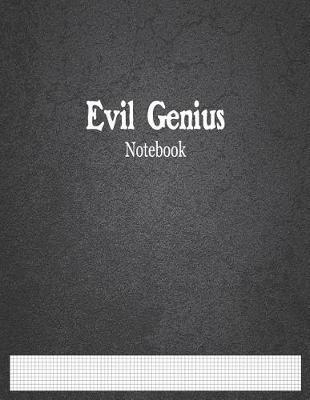 Evil Genius Notebook  1/10 graph ruled
