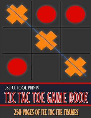 Thebridgelondon-ils.co.uk Useful Tool Prints Tic Tac Toe Game Book : Game Night Book Family Games for Kids and Adults Glossy Cover 8.5x11 250 Pages image