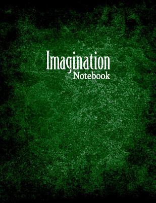 Imagination Notebook  1/2 Dot Grid Graph Ruling, 80 Pages
