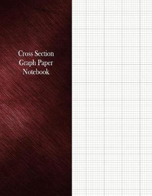 Cross Section Graph Paper Notebook  1/8 Cross Section Rule, 100 Pages