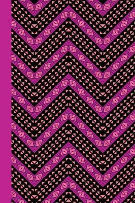 Journal  African Pattern (Violet) 6x9 - Lined Journal - Writing Journal with Blank Lined Pages