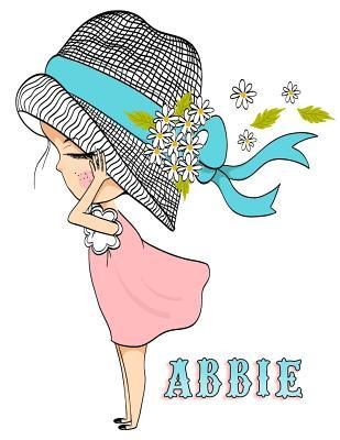 Abbie : Personalized Book with Name, Notebook, Journal, Diary, 105 Lined Pages, 8 1/2 X 11
