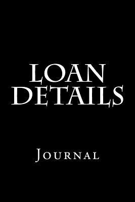 Loan Details  Journal