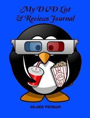 My DVD List and Reviews Journal, Lined, 50 Sheets/100 Pages, 9.75 X 7.5