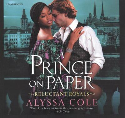 A Prince on Paper Lib/E : Reluctant Royals