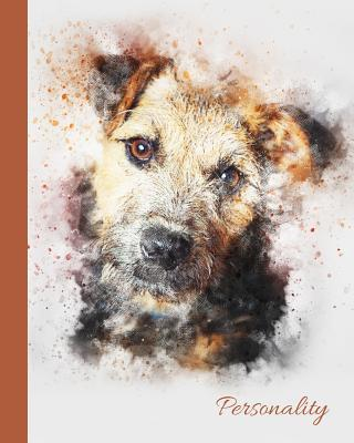 Personality  Terrier Journal/Notebook 8x10