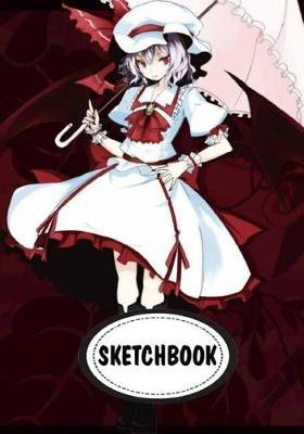 Sketchbook  Anime girl 10 110 Pages of 7 x 10 Blank Paper for Drawing (Sketchbooks)
