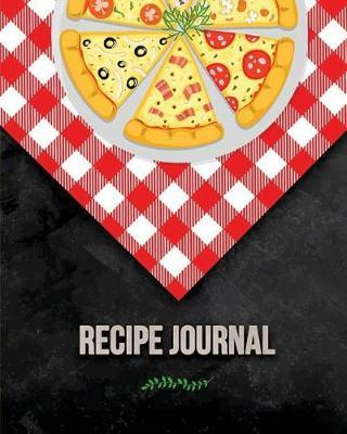 Recipe Journal  (recipe Journal Vol. A41) Glossy Cover, (Size 8 X 10) Blank Cookbook to Write In, Paperback (Blank Cookbooks and Recipe Books), 100 Spacious Record.