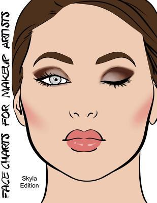 Face Charts for Makeup Artists Skyla Edition
