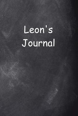 Leon Personalized Name Journal Custom Name Gift Idea Leon : (notebook, Diary, Blank Book)