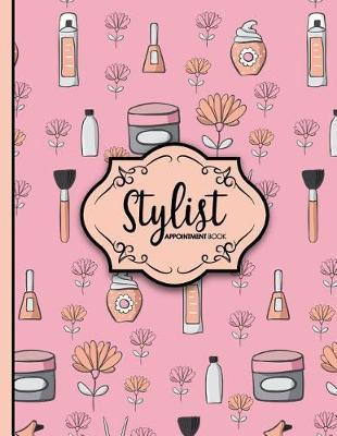 Stylist Appointment Book  4 Columns Appointment List, Appointment Scheduling Book, Easy Appointment Book, Cute Beauty Shop Cover