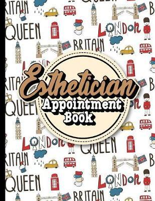 Esthetician Appointment Book  7 Columns Appointment Calendar, Appointment Schedule Book, Daily Appointment Schedule, Cute London Cover