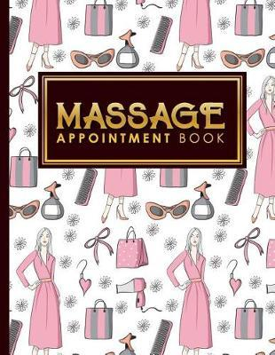 Massage Appointment Book  6 Columns Appointment List, Appointment Scheduling Book, Easy Appointment Book, Cute Beauty Shop Cover