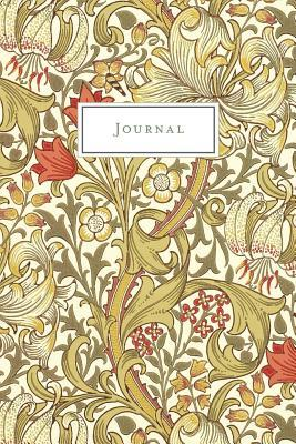 Journal  Vintage Floral Design - Journal, Notebook, Diary (College Ruled)