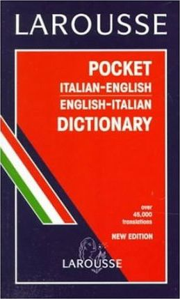 Larousse Pocket Italian-English English Italian Dictionary